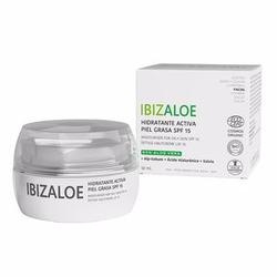 IBIZALOE hidratante activa piel grasa SPF 15 50 ml
