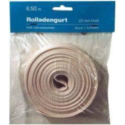 Rollladengurt 14/15mm x 6m silber, 320kg Reißfestigkeit