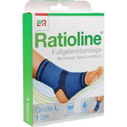 RATIOLINE active Fußgelenkbandage Gr.L 1 St.