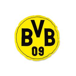 BVB Merchandising Borussia Dortmund Kissen BVB in gelb, rund, 42 cm