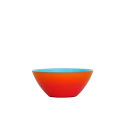 Guzzini Servierschüssel guzzini Schale MY FUSION türkis-orange D ca. 20, Acrylglas