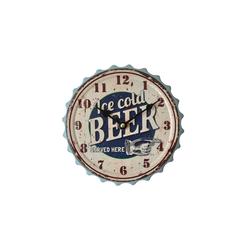 HTI-Line Wanduhr Wanduhr Bier