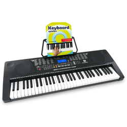 McGrey LK-6150 61 Tasten Keyboard Set mit Leuchttasten und Keyboardschule