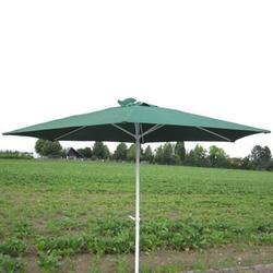 Marktschirm Sonnenschirm 300 cm grün Kurbel Gartenschirm Schirm Sonnenschutz