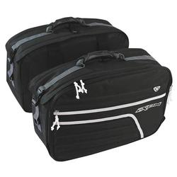 Ixon X-Twin Zadel tassen, zwart, 51-60l