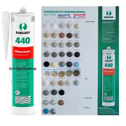 Ramsauer 440 Naturstein 1K Silicon Dichtstoff 310ml Kartusche