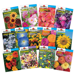 Burpee Favorite Annual and Perennial Flower Seed Collection - 12ct