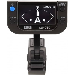 KORG AW-OTG OLED Clip-On Tuner Guitar
