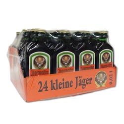 Jägermeister Kleinflaschen Kräuterlikör Miniflasche 2cl 24er Pack