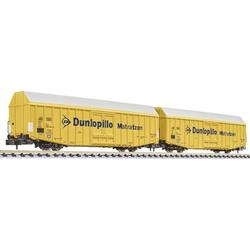 Liliput L260160 N 2er Güterwagen Dunlopillo der DB