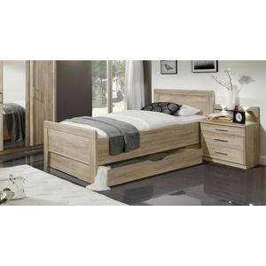 Stauraum-Seniorenbett in Komforthöhe 90x190 cm - Palmira