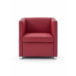 Sessel ID rot, Designer Indomo, 71x71x71 cm
