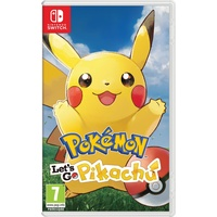 Pokemon: Let's Go, Pikachu! (PEGI) (Nintendo Switch)