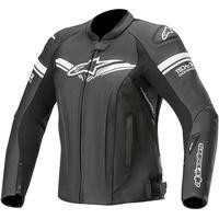 Alpinestars Stella GP-R Damen Motorrad Lederjacke, schwarz, Größe 38