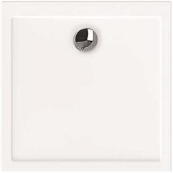 Hoesch Samar Duschwanne 4453.010 100 x 100 x 2,5 cm, weiß, ultraflach