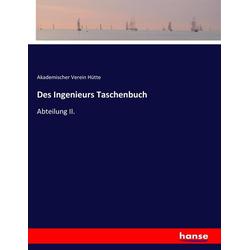 Des Ingenieurs Taschenbuch