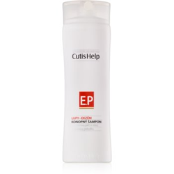 CutisHelp Health Care P.E. - Dandruff - Eczema Shampoo mit Hanf beim Auftreten von Ekzemen und Schuppen 200 ml
