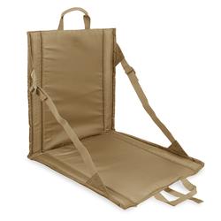 bw-online-shop Faltbares Sitzkissen mit Lehne camel