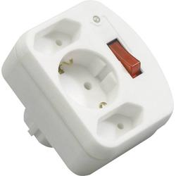 REV 00135501 Steckdosen-Verteiler Weiß
