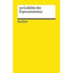 50 Gedichte des Expressionismus - Buch