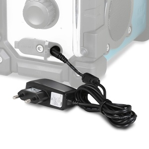 Wicked Chili Netzteil kompatibel zu Makita Radio DMR 112 110 109 108 107 106 BMR 105 104 103 102 101 100 ersetzt original Makita Baustellenradio Kabel SE00000101 SE00000078 SE00000265, rauschfrei 1,8m