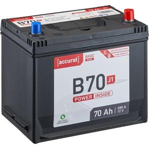 Accurat Basic Asia B70 J1 Autobatterie 70Ah