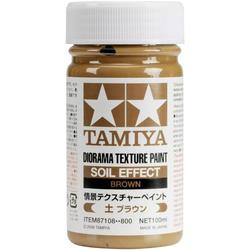 Tamiya 87108 Modellbau-Spachtelmasse Braun 100ml