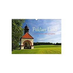 Fuldaer Land - Heile Welt zwischen Rhön und Vogelsberg (Wandkalender 2021 DIN A3 quer) - Kalender