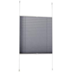 Plissee Klemmfix-Plissee, Liedeco, Lichtschutz, ohne Bohren, verspannt 80 cm x 210 cm