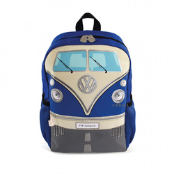 VW Bulli T1 Rucksack Klein blau