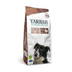 Yarrah Senior Huhn, Fisch mit Kräuter 10kg Bio Trocken Hundefutter
