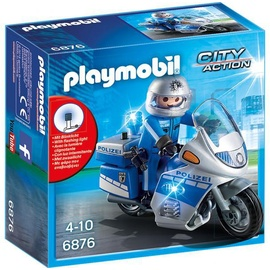 Playmobil City Action Motorradstreife mit LED-Blink (6876)
