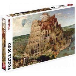 Piatnik Puzzle 5639 Pieter Bruegel Turmbau zu Babel 1000 Teile, Puzzleteile