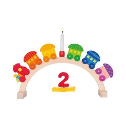 goki Kerzenhalter Geburtstagsbogen Mein kleiner Zug, 11-tlg.