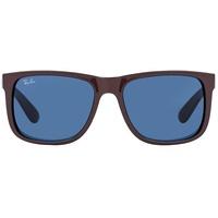 Ray Ban Justin RB4165 55mm brown / dark blue