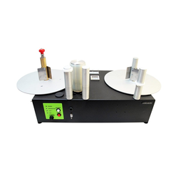 PM-300-CS-STEP - Etiketten Aufwickler und Abwickler mit Start und Stop Automatik und konstanter Geschwindigkeit