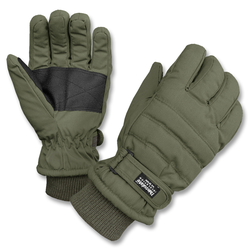 Mil-Tec Handschuhe mit Thinsulate Futter oliv, Größe M/8