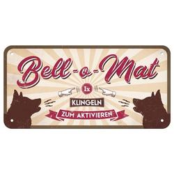 """Nostalgic-Art Hängeschild """"Bell-o-Mat"""" 20 x 10 cm"""