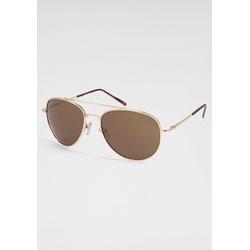 PRIMETTA Eyewear Sonnenbrille im Aviator Style goldfarben