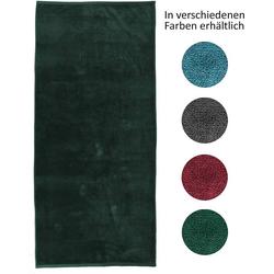 jilda-tex Strandtuch (1-St), mit 100% Bio-Baumwolle grün