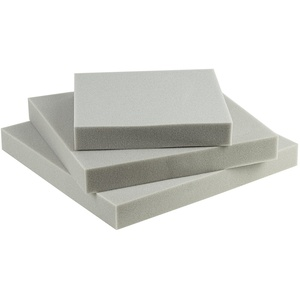 SEEBAUER Living® Schaumstoffplatte | Verschiedene Größen | RG35/40 | Auflage für Möbel und Palettenmöbel | Schaumkissen aus PU-Schaum (35 x 35 x 2 cm)