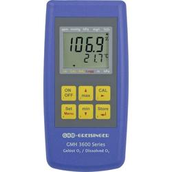 Greisinger GMH 3611-GL Sauerstoffmessgerät Druck, O2-Konzentration, O2-Sättigung