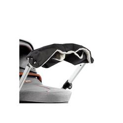 ONVAYA Kinderwagen-Handwärmer Kinderwagenmuff, Kinderwagen Handwärmer in grau oder Schwarz, Warme Handschuhe für den Kinderwagen schwarz