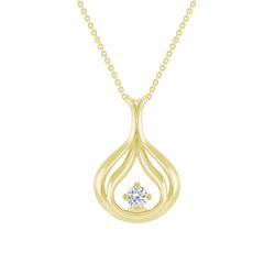Elegante Diamanten-Halskette Tommie