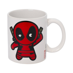MARVEL Tasse Tasse Deadpool Chibi, 315 ml rot