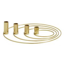 Nordal Ring Kerzenhalter für 4 Kerzen 32 cm