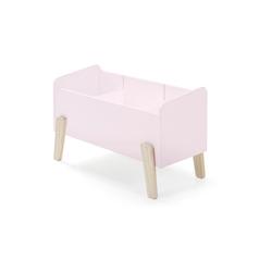 Vipack Spielkiste Kiddy mit 3 Fächern, rosa