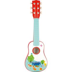 Kleiner Fuchs Gitarre bunt