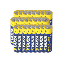 VARTA Varta AA Mignon Batterie Industrial inkl. kostenlo Batterie