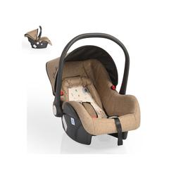 Moni Babyschale Babyschale Gala, Gruppe 0+, 3 kg, (0 - 13 kg), Sitzpolster, Fußabdeckung braun